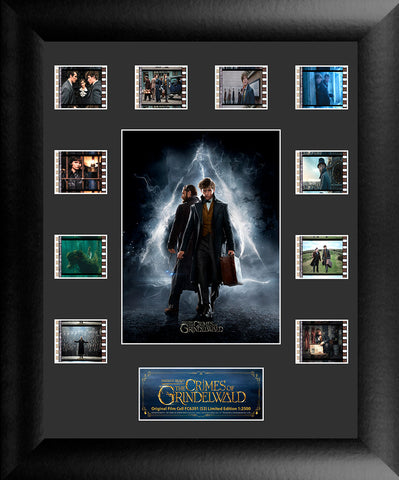 Fantastic Beasts The Crimes of Grindelwald Mini Montage FilmCell USFC6391 Numbered Limited Edition COA