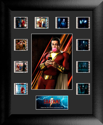 Shazam S1 Mini Montage FilmCell Presentation USFC6398 Numbered Limited Edition COA