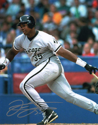 Autographed 8X10 Frank Thomas First Baseman Designated Hitter Major League Baseball COA