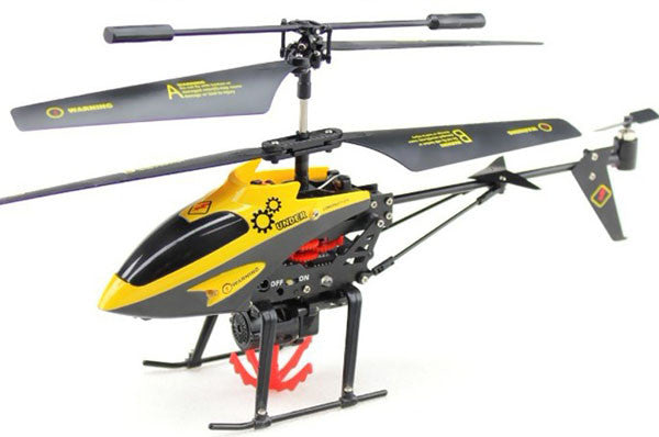 "9"" V388 3.5ch RC Rescue Transport Helicopter with Gyro HG38 Yellow"