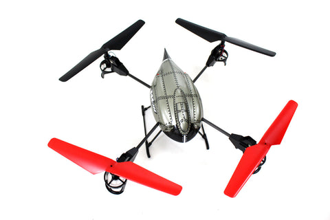 "5.1"" WLtoys V959 4-Axis 4 CH RC Quad copter w/ Camera, Lights, and Gyro 2.4G"