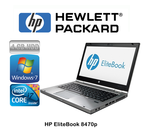 HP Refurbished EliteBook 8470p