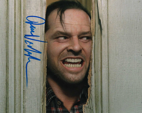 Autographed 8 X 10 Picture Jack Nicholson Actor Filmmaker The Shining COA