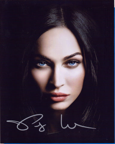 Autographed 8 X 10 Photo Megan Fox Actor The Transformers COA