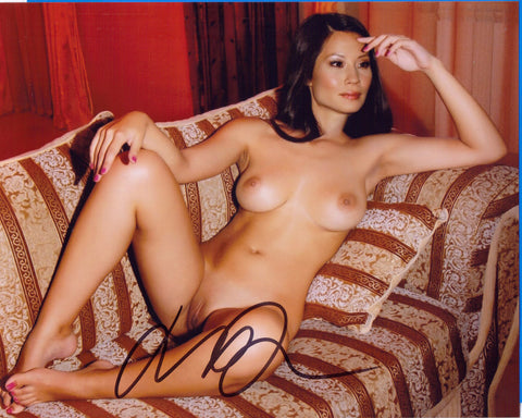 Lucy Liu Actress - NUDE - 8 X 10 Autographed Picture COA