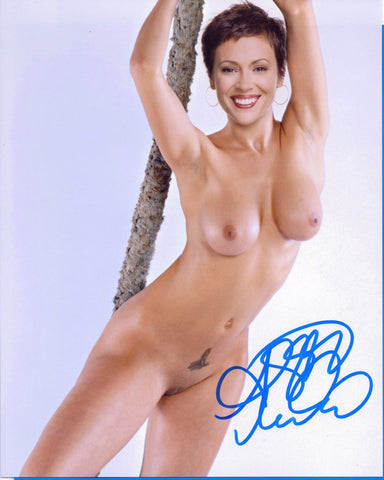 Alyssa Milano - NUDE - Actress Singer Producer 8 X 10 Autographed Picture COA