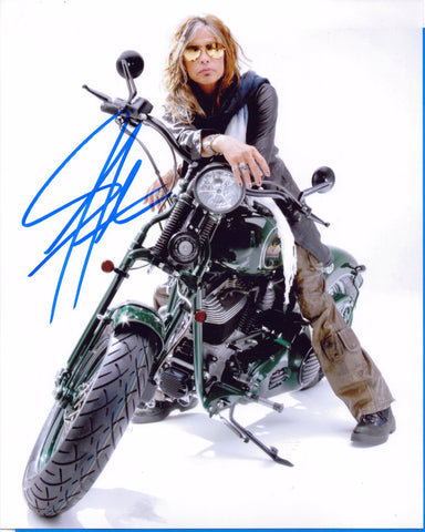 Autographed 8X10 Picture Steven Tyler Singer Songwriter Aerosmith Rock Band COA