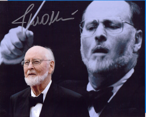 Autographed 8 X10 Picture John Williams Composer Star Wars Jaws ET Superman COA