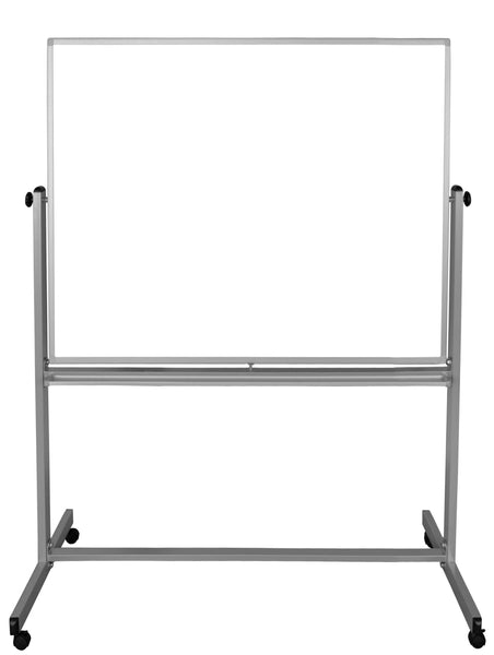 Luxor mb4848ww 48 x 48 double-sided magnetic whiteboard