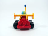 "4"" Cartoon R/C Formula Race Car Toy for Toddlers (Red)"