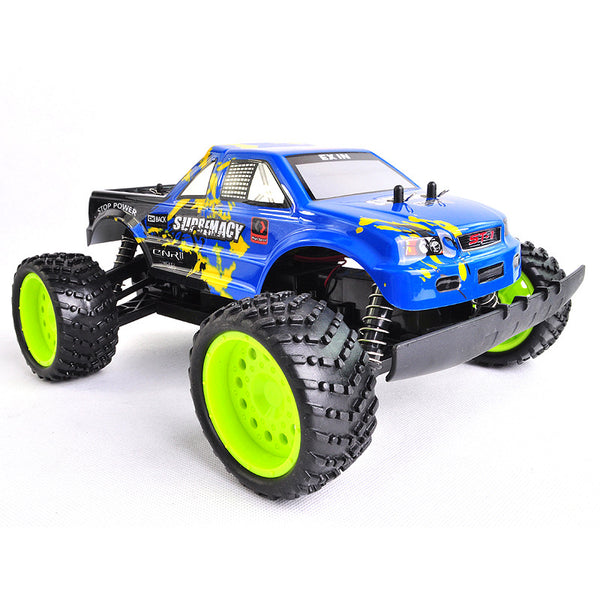 Electric Racing Truggy RC Car (Blue)