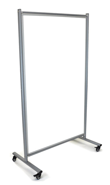 Luxor mobile whiteboard room divider