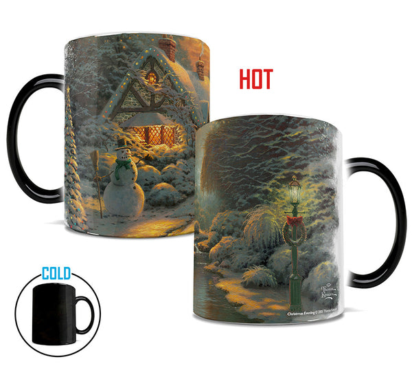Thomas Kinkade Christmas Evening Morphing Mugs™ Heat-Sensitive Mug