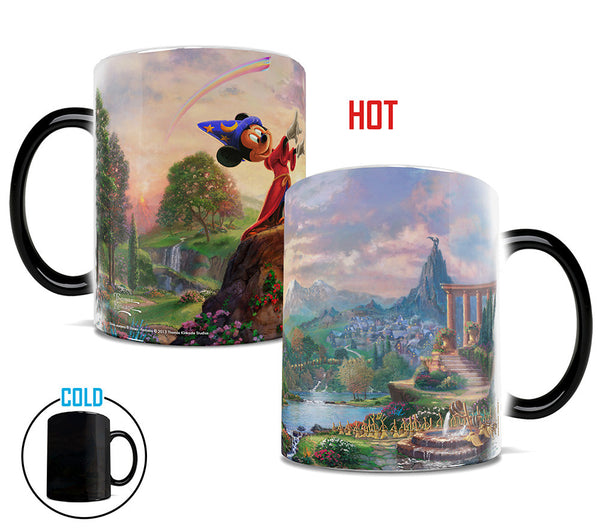 Thomas Kinkade Fantasia Morphing Mugs™ Heat-Sensitive Mug