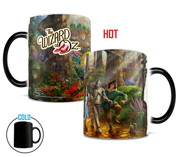 Thomas Kinkade Follow the Yellow Brick Road Morphing Mugs™ Heat-Sensitive Mug