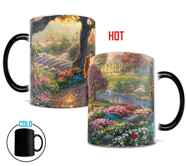 Thomas Kinkade Gone with the Wind Morphing Mugs™ Heat-Sensitive Mug