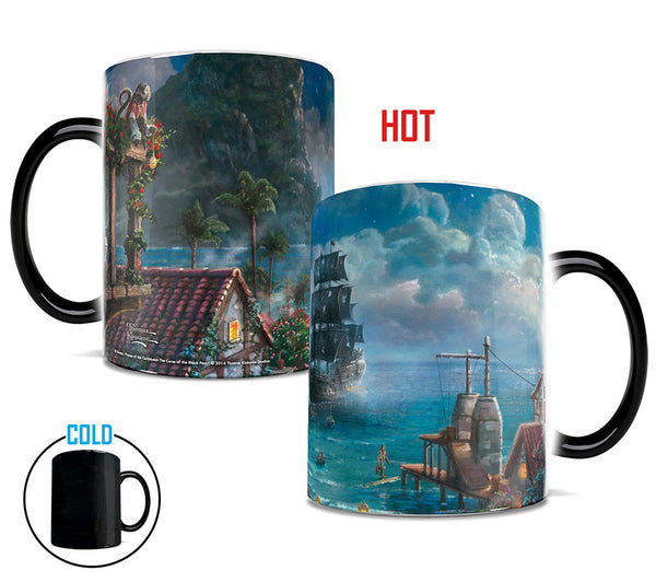 Thomas Kinkade Pirates of the Caribbean Morphing Mugs™ Heat-Sensitive Mug