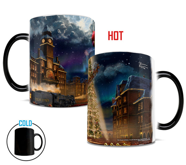Thomas Kinkade The Polar Express Morphing Mugs™ Heat-Sensitive Mug