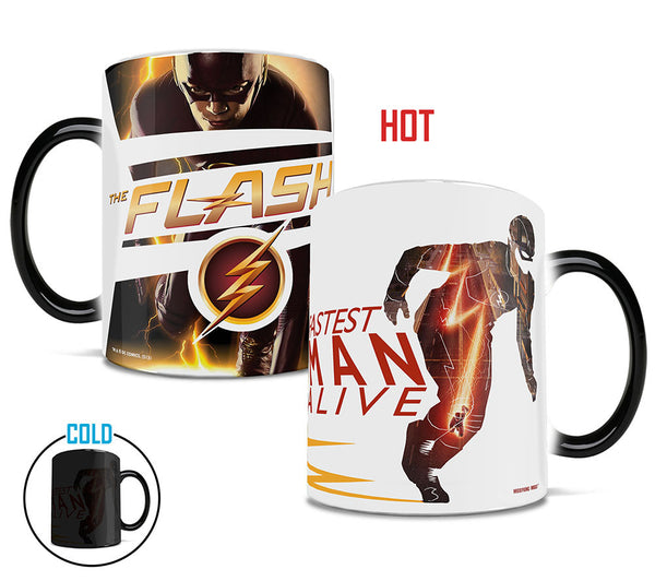 Flash™ (Fastest Man Alive) Morphing Mugs™ Heat-Sensitive Mug