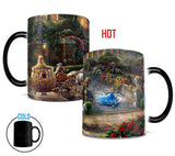 Thomas Kinkade (Clock Strikes Midnight) Morphing Mugs™ Heat-Sensitive Mug