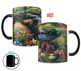 Thomas Kinkade (Alice in Wonderland) Morphing Mugs™ Heat-Sensitive Mug