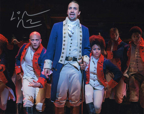 Autographed 8X10 Picture Lin-Manuel Miranda Hamilton Actor Composer Lyricist Playright COA