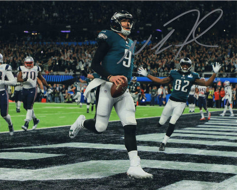 Autographed 8X10 Picture Nick Foles Quarterback Philadelphia Eagles of the National Football League NFL COA