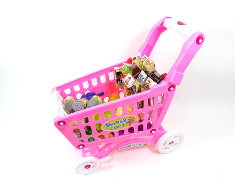 Shopping Cart Play Set (Pink)