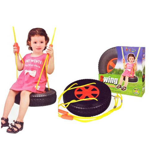 "16"" Kings Sport Tire Swing Set for Kids"