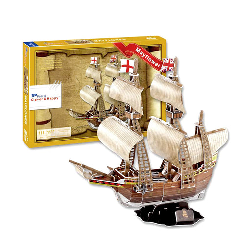 Mayflower 3D Puzzle (111 Pieces)
