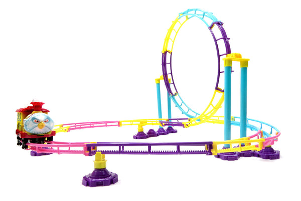 Park Roller Coaster Toy Building Set (75 Pcs)