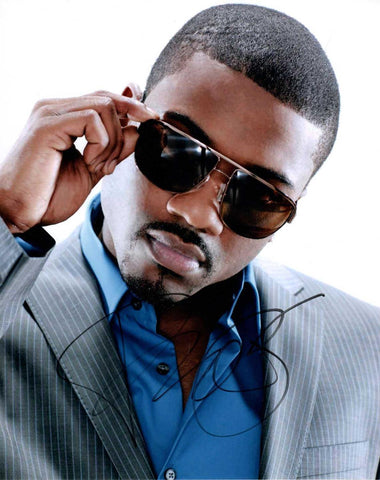 Autographed 8 X 10 Picture Ray J Singer Songwriter Record Producer Actor COA