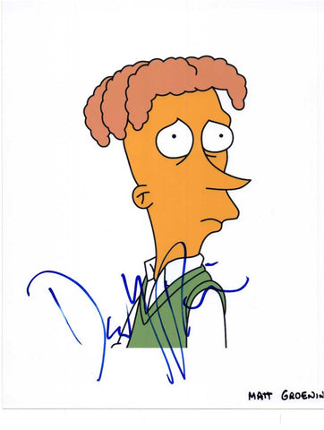 Autographed Picture Brother from Another Series Simpsons David Hyde Pierce COA