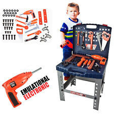 "16"" Childrens Toolbox Playset"
