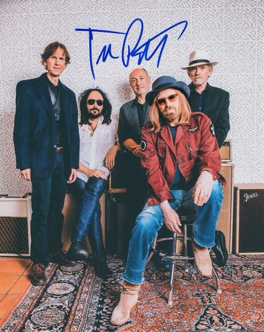 Autographed 8X10 Picture Tom Petty The Heartbreakers COA