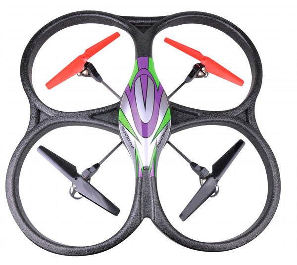 2.4Ghz 4ch V262 Big Size UFO Quadcopter with Gyro V262 Green