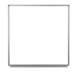 Luxor wb4848w 48 x 48 wall-mounted magnetic whiteboard