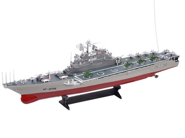 "30"" HT-2878 Large Warship Challenger Boat w/ Two Very Fast Motors"