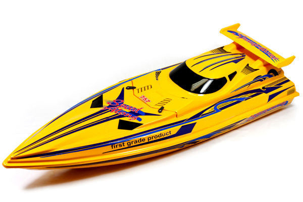 "36"" 2.4G Speed Xcyclone Racing Boat (Yellow)"