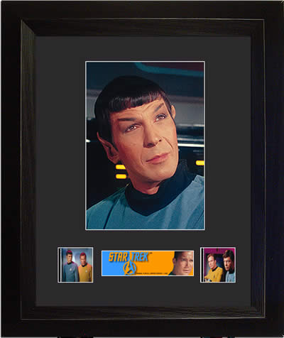 Star Trek The Original Series Spock USFC2525 limited edition COA