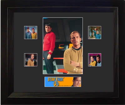 Star Trek The Original Series Double USFC2526 Film Cell Limited Edition COA