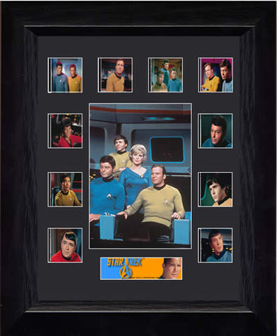 Star Trek The Original Series Mini Montage USFC2528 Filmcell Limited Edition COA