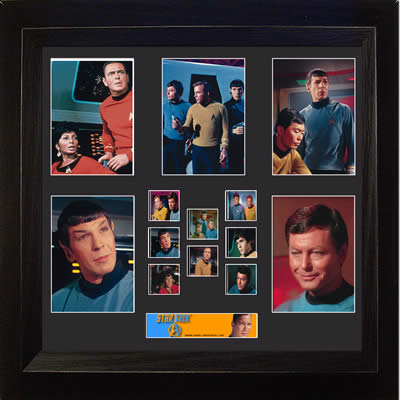 Star Trek The Original Series Montage USFC2530 FilmCell 20 X 19 Limited Edition COA