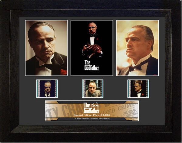 Godfather 1 S1 Three Cell Std 13 X 11 Film Cell Limited Edition COA