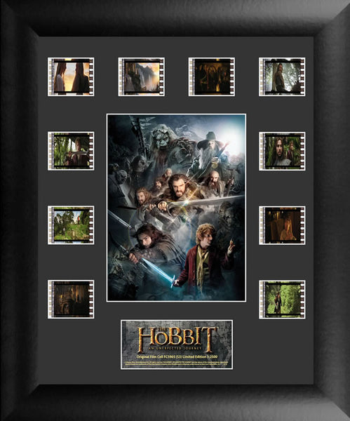 HOBBIT UNEXPECTED JOURNEY Film Cell Numbered Limited Editiion COA