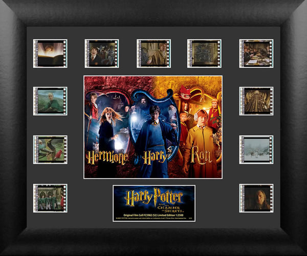 Harry Potter & the Chamber of Secrets Mini Montage Film Cell Limited Edition COA