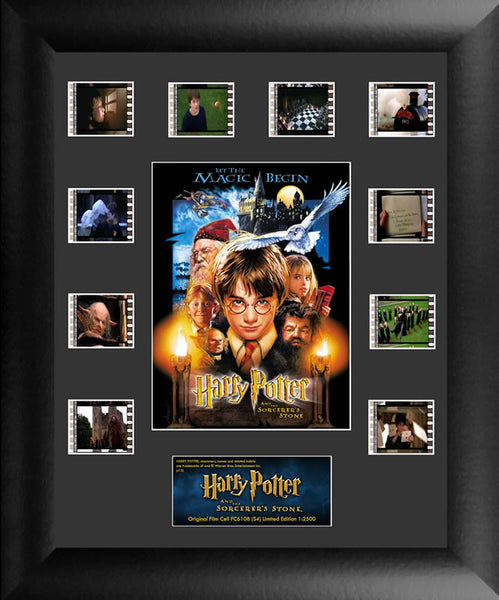 Harry Potter Sorcerers Stone Mini Montage S4 Film Cell Limited Edition COA