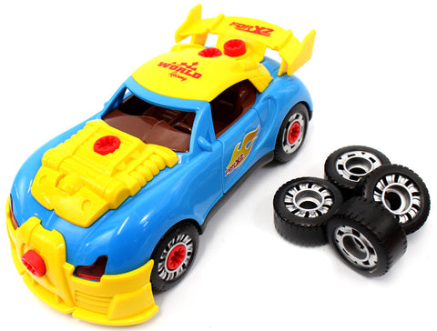 Racing Car Take-A-Part Toy