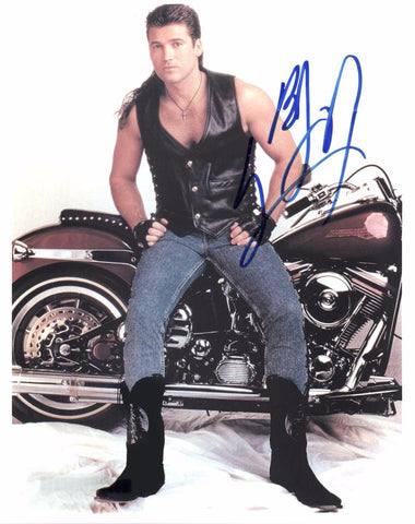 Autographed 8 X 10 Photograph Billy Ray Cyrus Musician Songwriter Actor COA