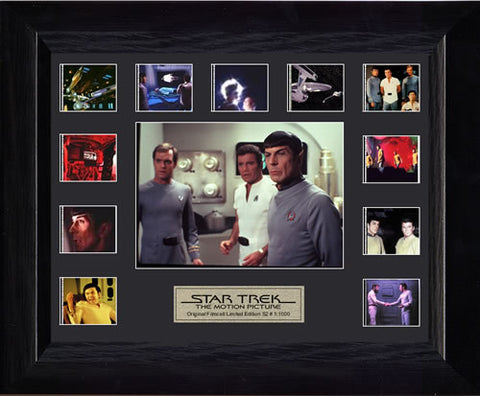Star Trek The Motion Picture S2 Mini Montage USFC2123 Filmcell 13 X 11 Numbered Limited Edition COA